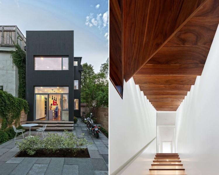 Dubbeldam architecture design home for Dubbeldam architecture and design s contrast house