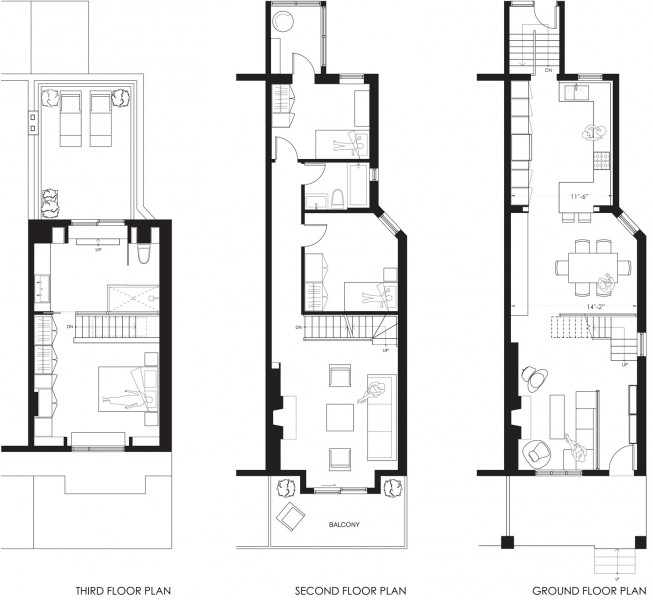 Dubbeldam architecture design beach house for Dubbeldam architecture and design s contrast house