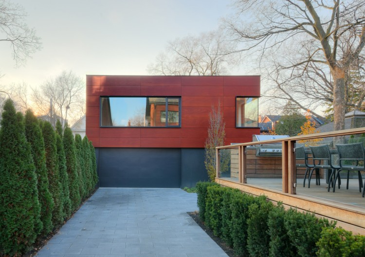Dubbeldam architecture design annex house for Dubbeldam architecture and design s contrast house